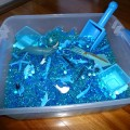 Blue Ocean Sensory Bin